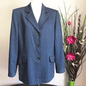 Evan Picone Women's Blue Blazer